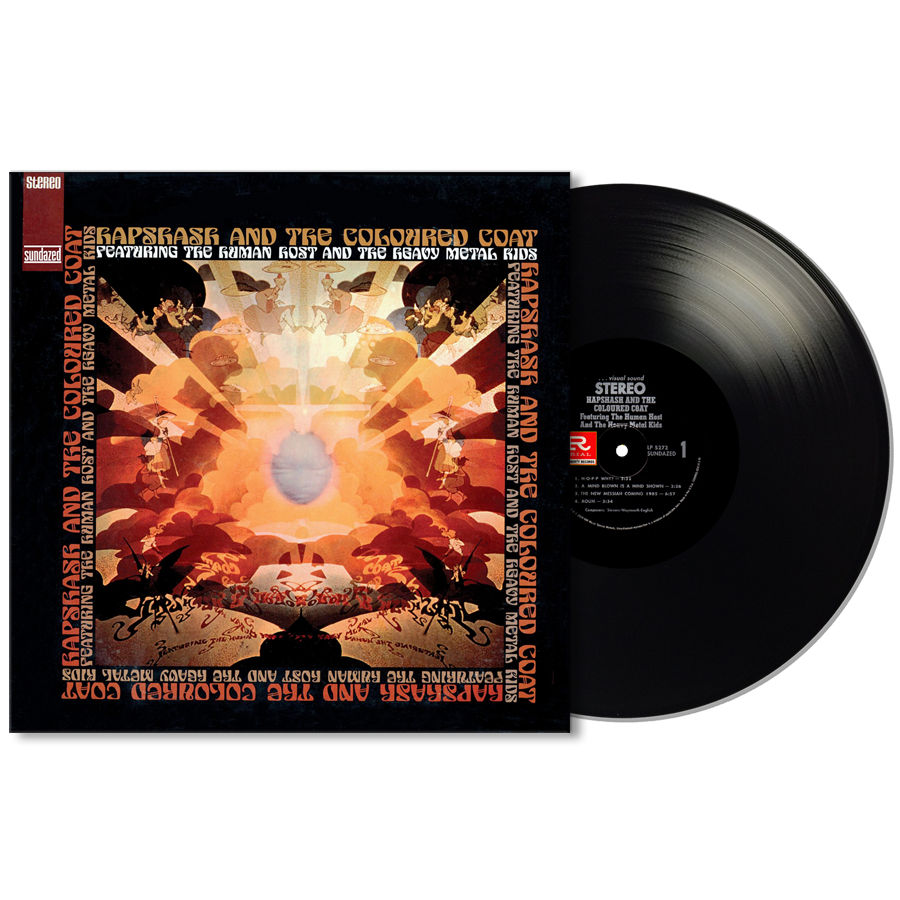 Hapshash and the Coloured Coat - Human Host and the Heavy Metal Kids LP