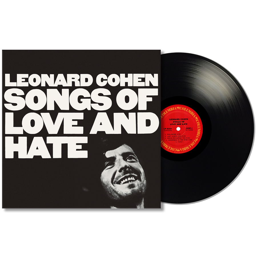 Cohen, Leonard - Songs of Love and Hate LP