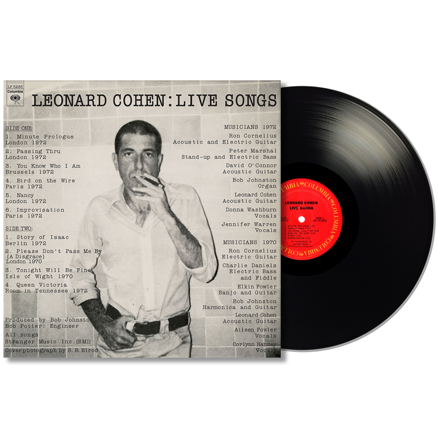 Cohen, Leonard - Live Songs LP