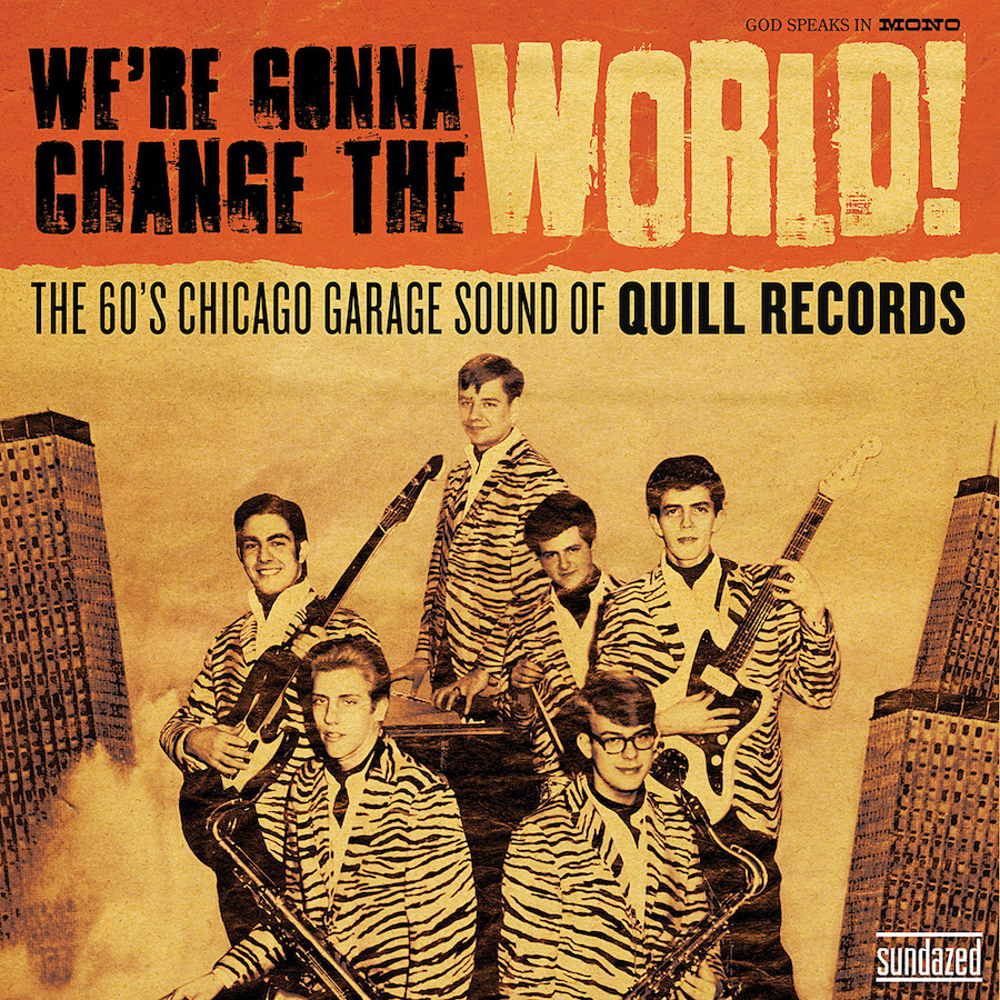 Various Artists - We're Gonna Change The World - We're Gonna Change The World: The 60's Chicago Garage Sound of Quill Records - LP - LP 5309