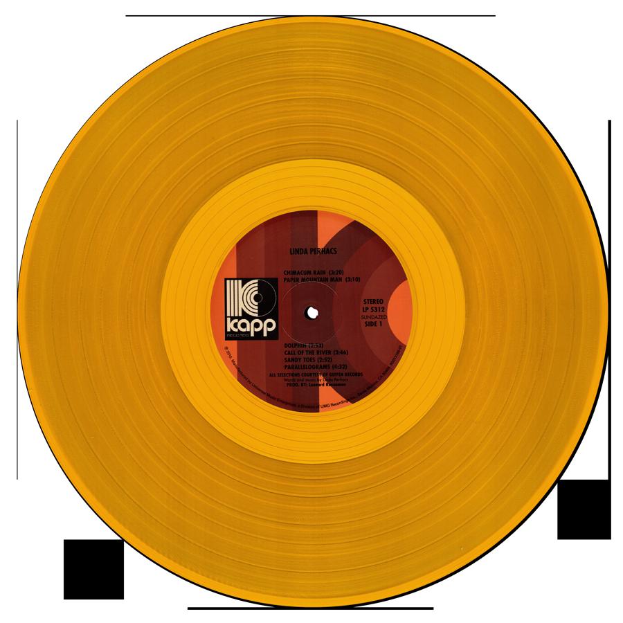 Perhacs, Linda - Parallelograms LP - LP 5312-CLR