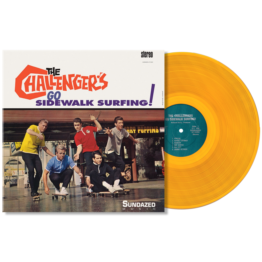 Challengers, The - Go Sidewalk Surfing! Limited Edition LP