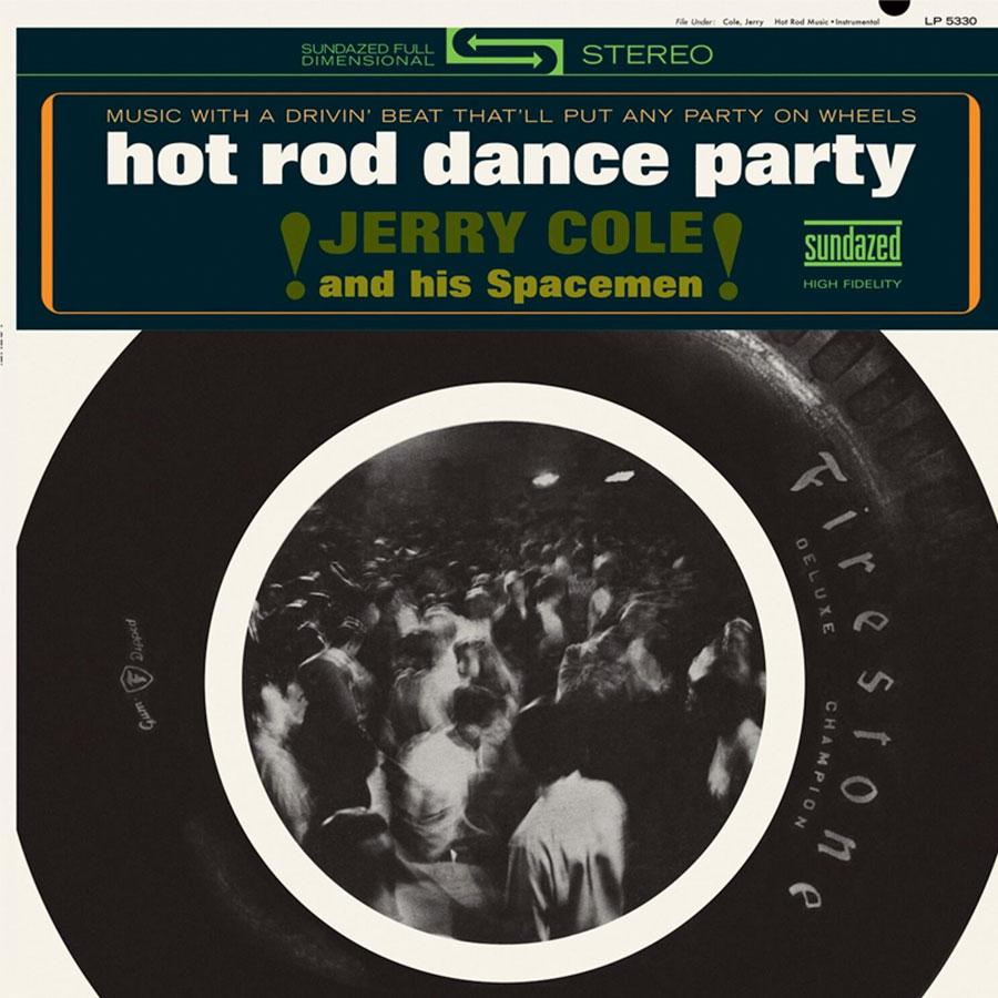 Cole, Jerry - Hot Rod Dance Party - LP 5330