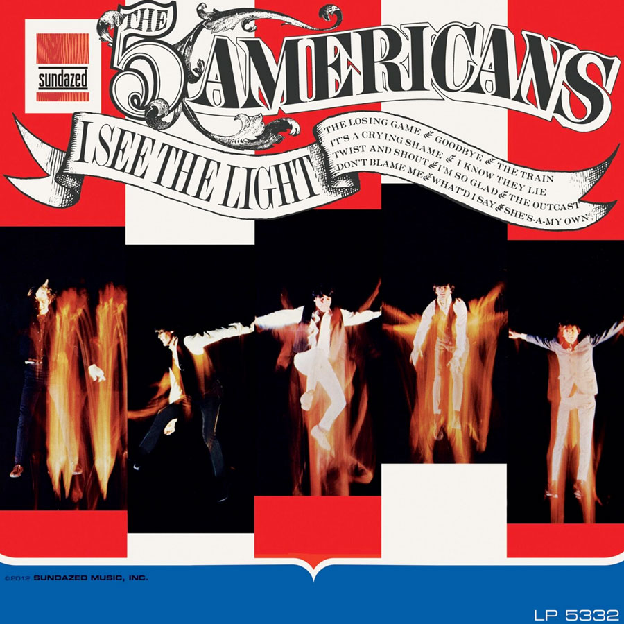 Five Americans, The - I See the Light -LIMITED EDITION MONO- LP - LP 5332