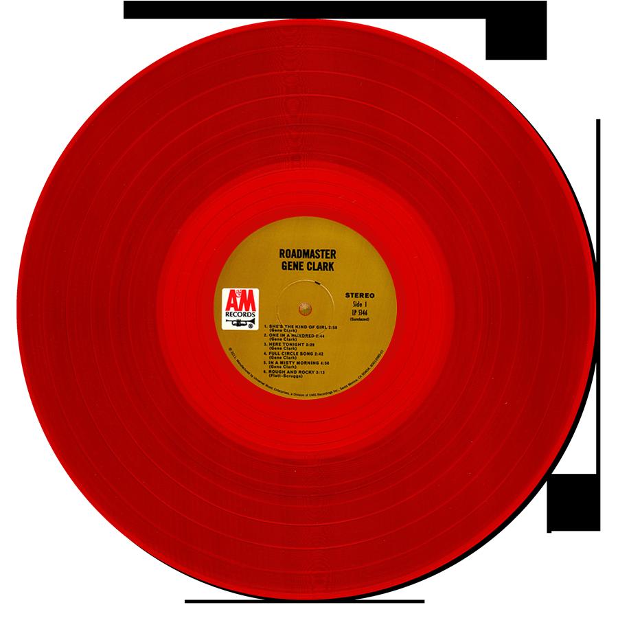 Clark, Gene - Roadmaster - COLORED VINYL LP - LP-SUND-5346X