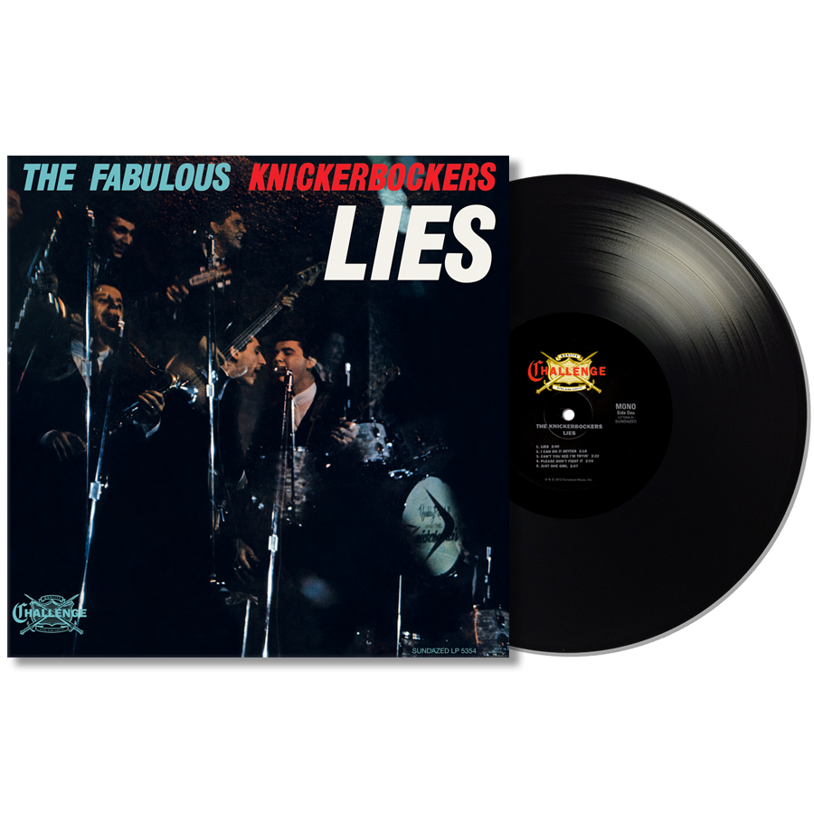 Knickerbockers, The - Lies MONO EDITION LP