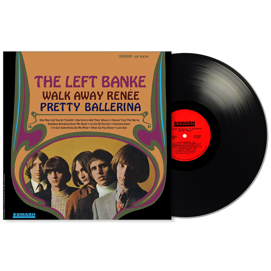 Left Banke, The - Walk Away Renee/Pretty Ballerina - LP