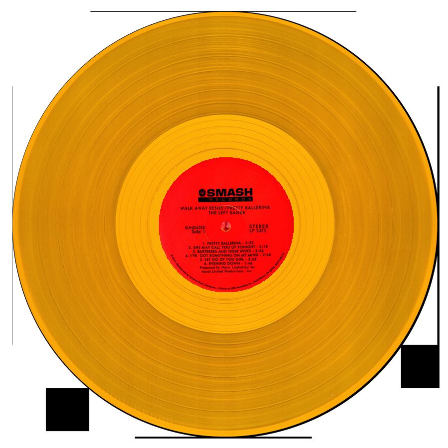 Left Banke, The - Walk Away Renee/Pretty Ballerina - LP - GOLD VINYL