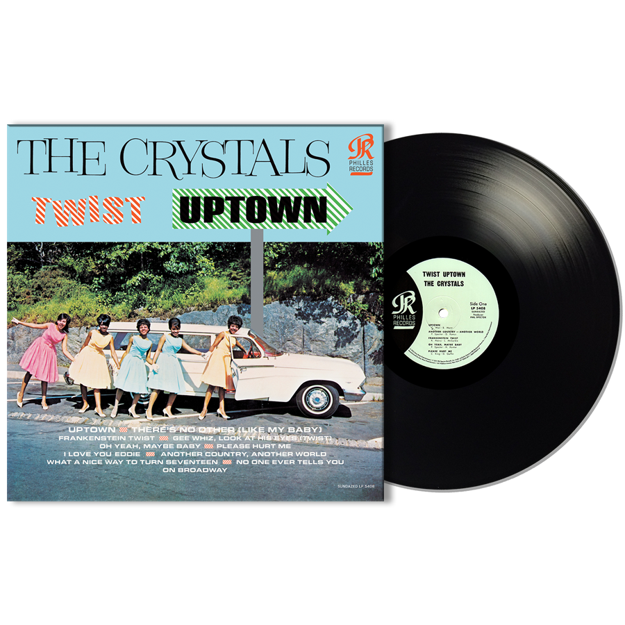 Crystals, The - Twist Uptown MONO EDITION LP