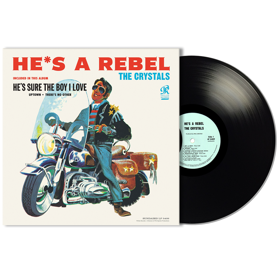 Crystals, The - Hes a Rebel MONO EDITION LP