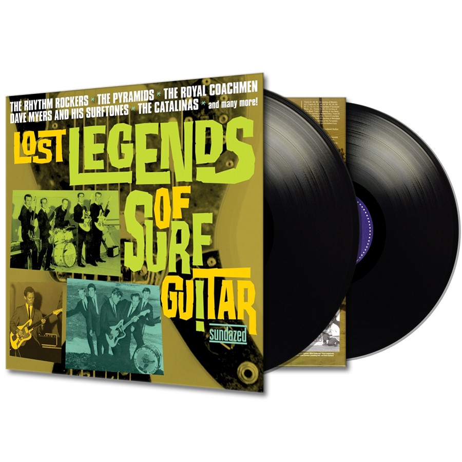 Various Artists - Lost Legends of Surf Guitar - Lost Legends of Surf Guitar 2-LP Set
