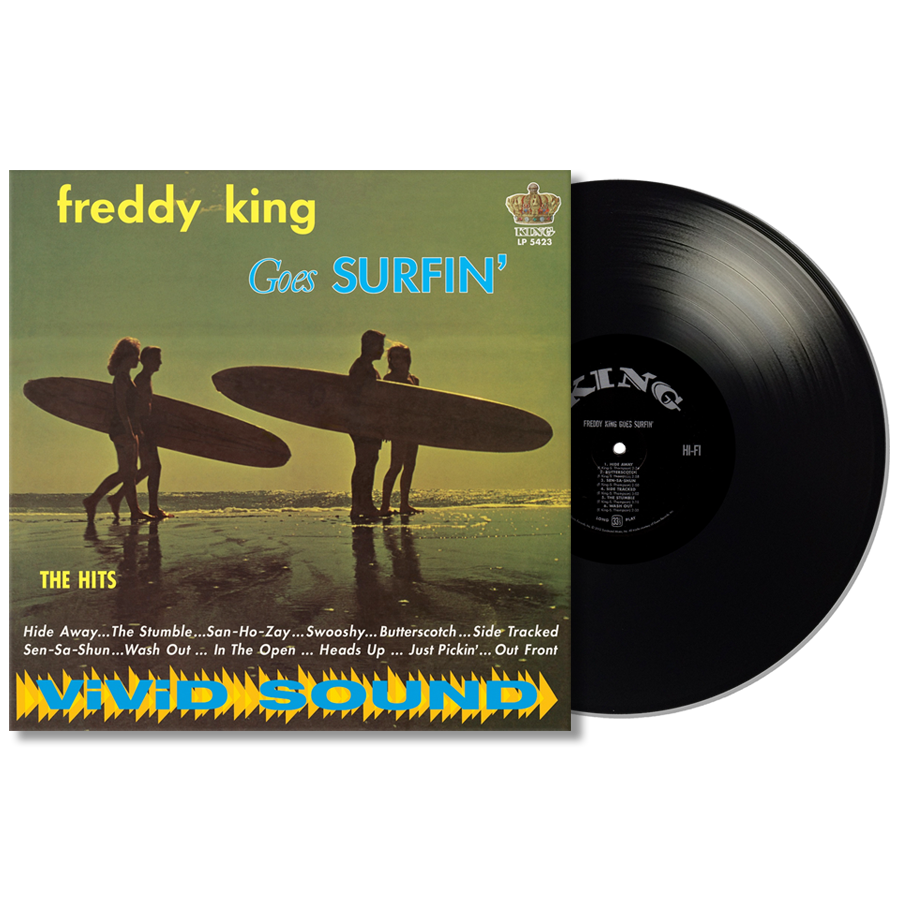King, Freddy (Freddie) - Freddy King Goes Surfin LP