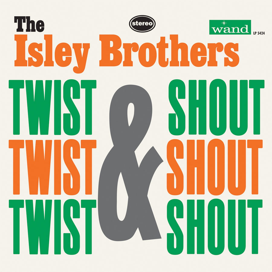 Isley Brothers, Isley - Twist & Shout LP - LP 5424