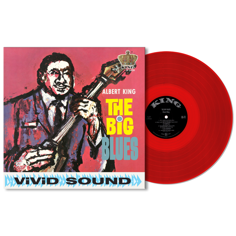 King, Albert - The Big Blues - Red Vinyl LP