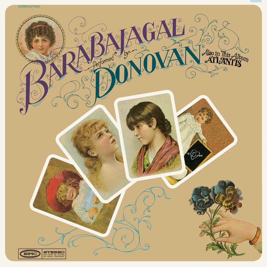 Donovan - Barabajagal - LP