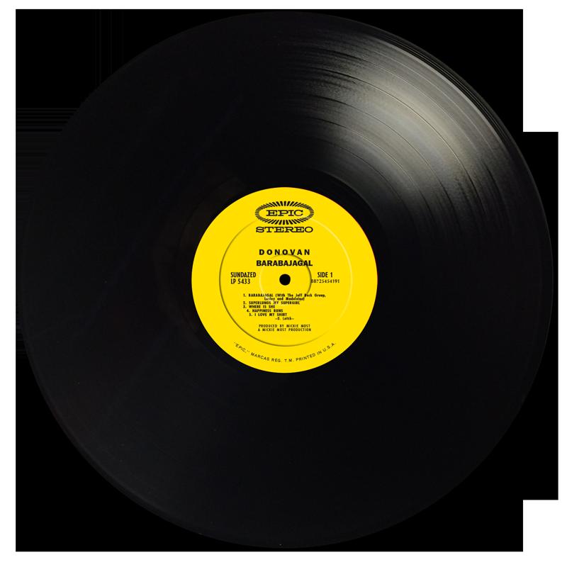 Donovan - Barabajagal - LP - LP 5433