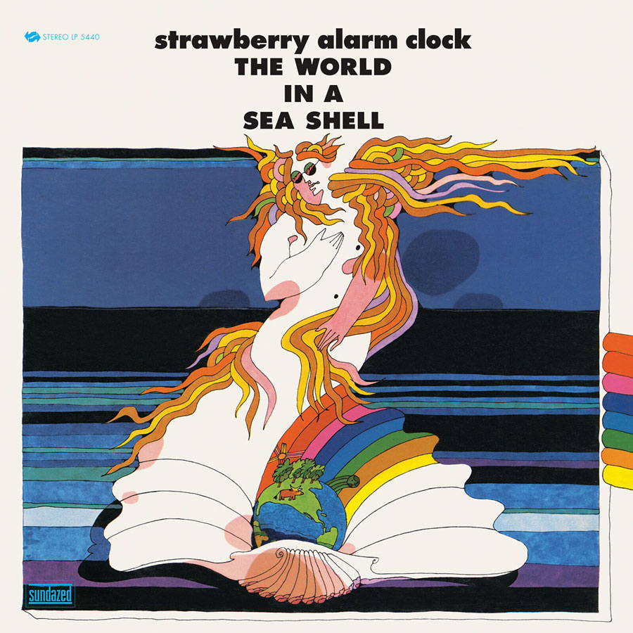 Strawberry Alarm Clock, The - The World In A Sea Shell - LP