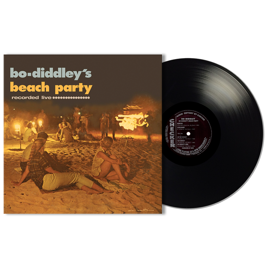 Diddley, Bo - BO DIDDLEY'S BEACH PARTY - LP