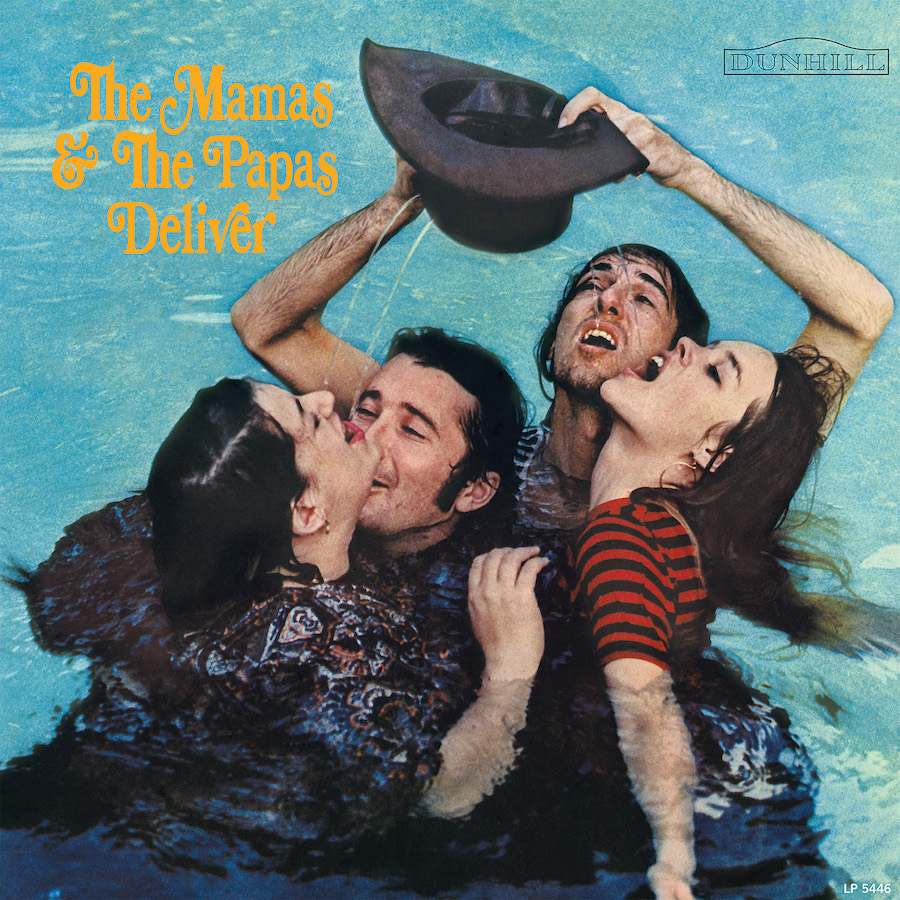 Mamas and the Papas, The - Deliver - Stereo LP