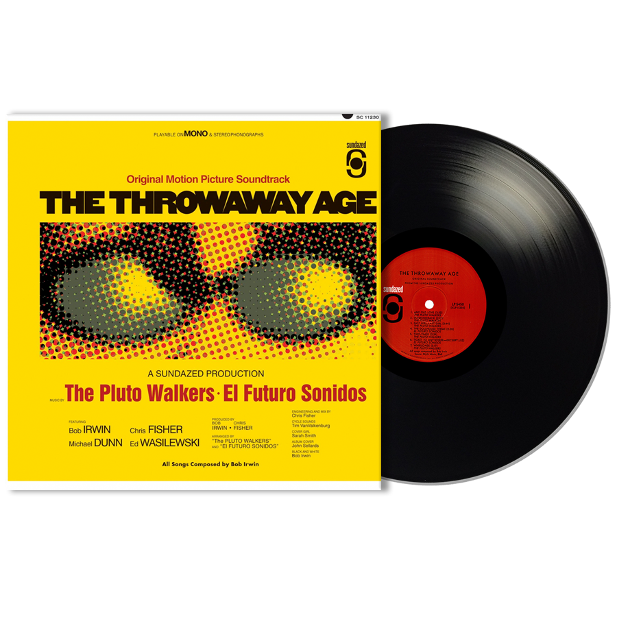 Irwin, Bob and the Pluto Walkers - The Throwaway Age LP