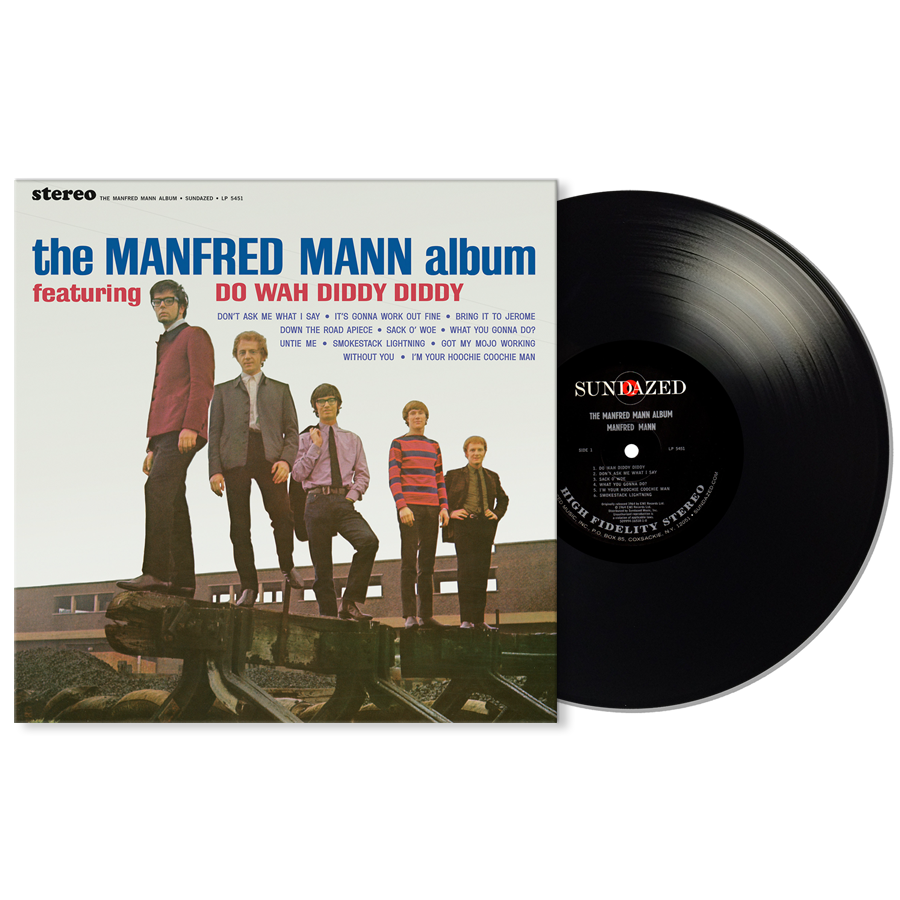 Manfred Mann - The Manfred Mann Album LP