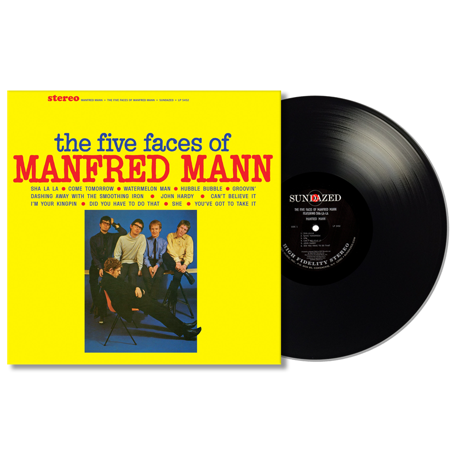 Manfred Mann - The Five Faces of Manfred Mann LP