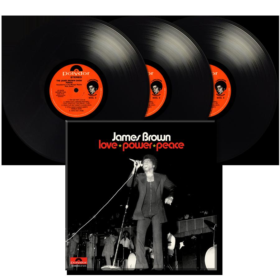 Brown, James - Love Power Peace - 3-LP Set