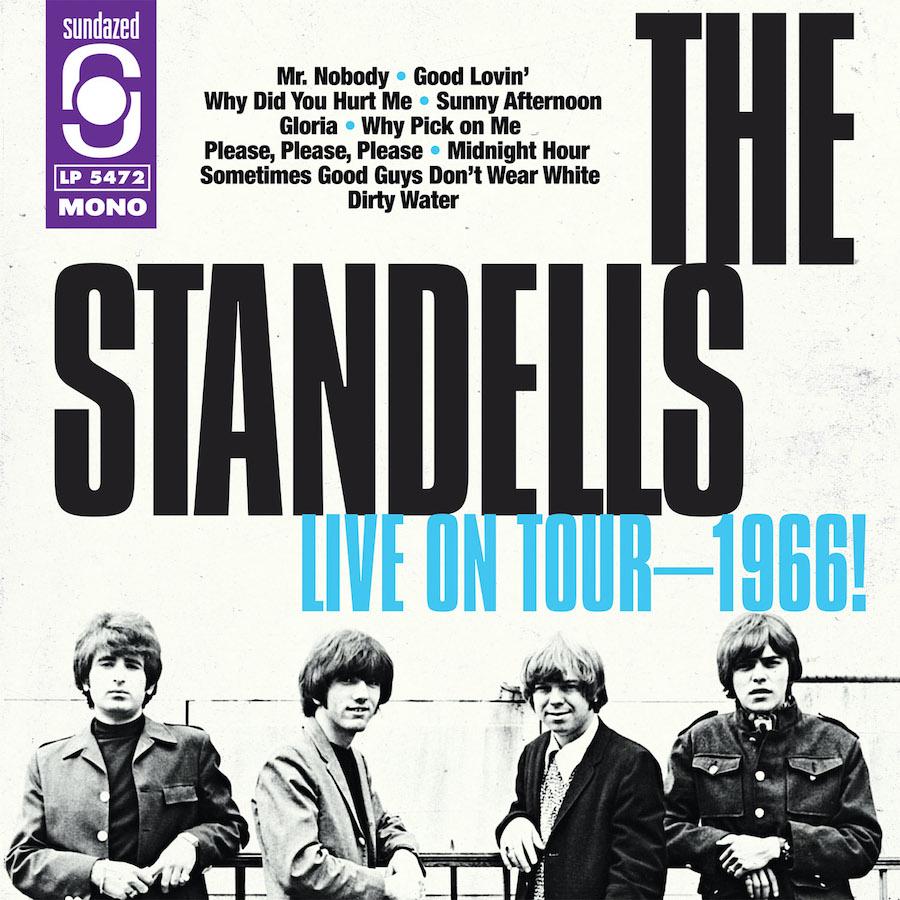 Standells, The - LIVE ON TOUR-1966! - Vinyl