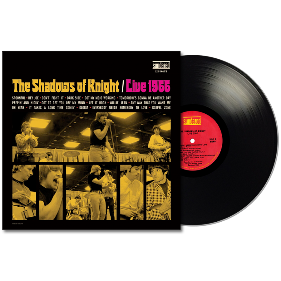Shadows of Knight, The - LIVE 1966 - Vinyl