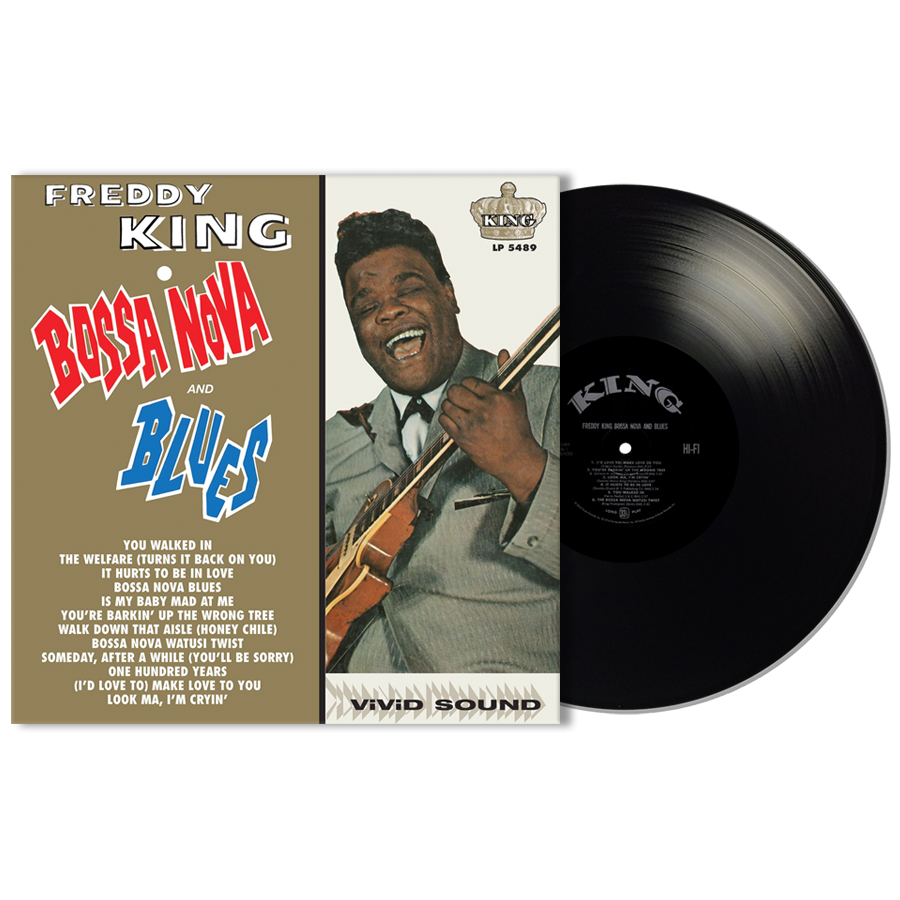 King, Freddy (Freddie) - Bossa Nova and Blues LP