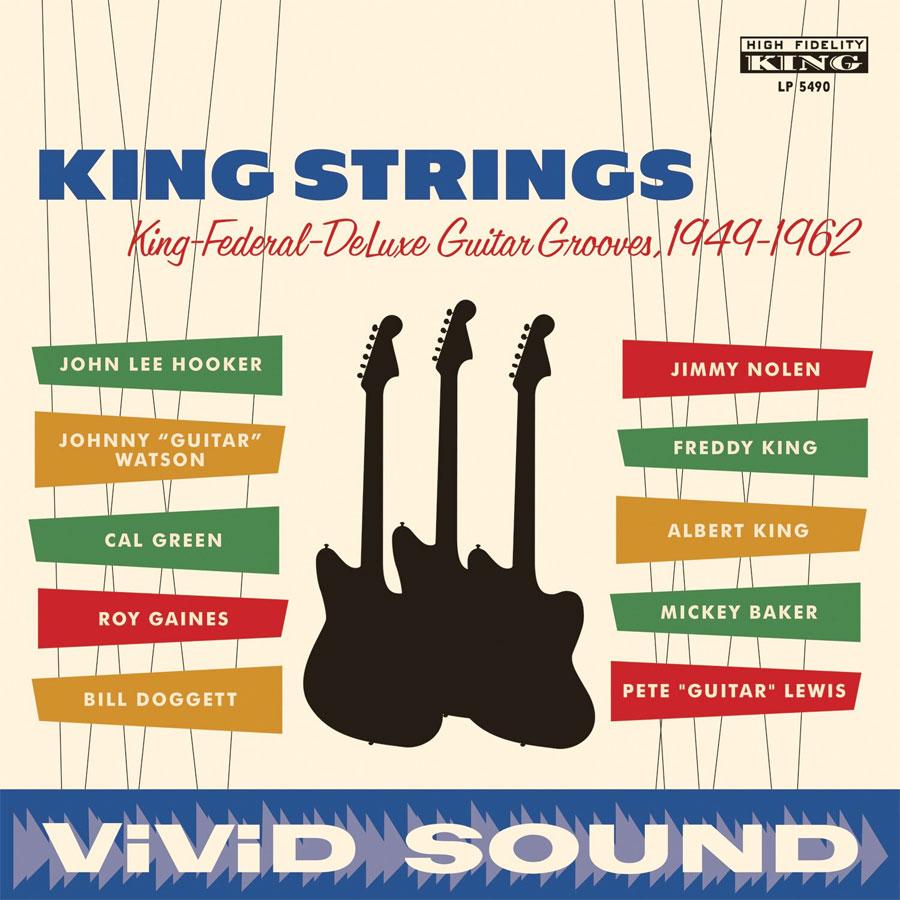 Various Artists - KING STRINGS - KING STRINGS - Vinyl - LP 5490