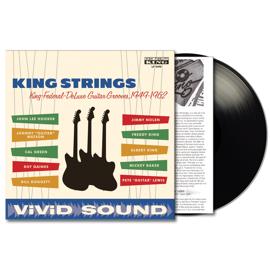 Various Artists - KING STRINGS - KING STRINGS - Vinyl