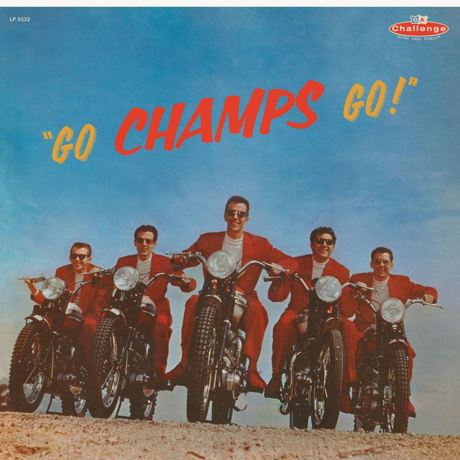 Champs, The - Go Champs Go! - LP - LP 5532