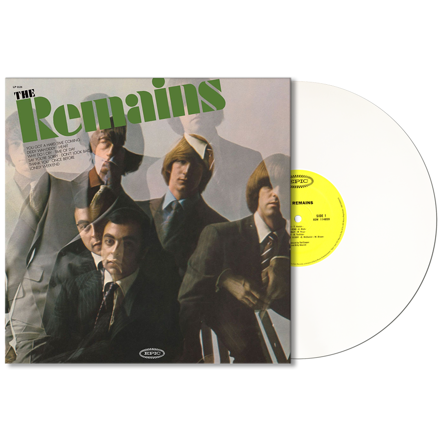 Remains, The - The Remains - Limited Edition MONO White Opaque Vinyl LP