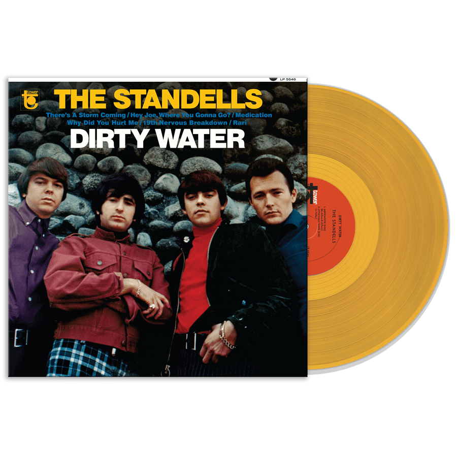Standells, The - Dirty Water - MONO COLORED VINYL LP  - LP-SUND-5546X