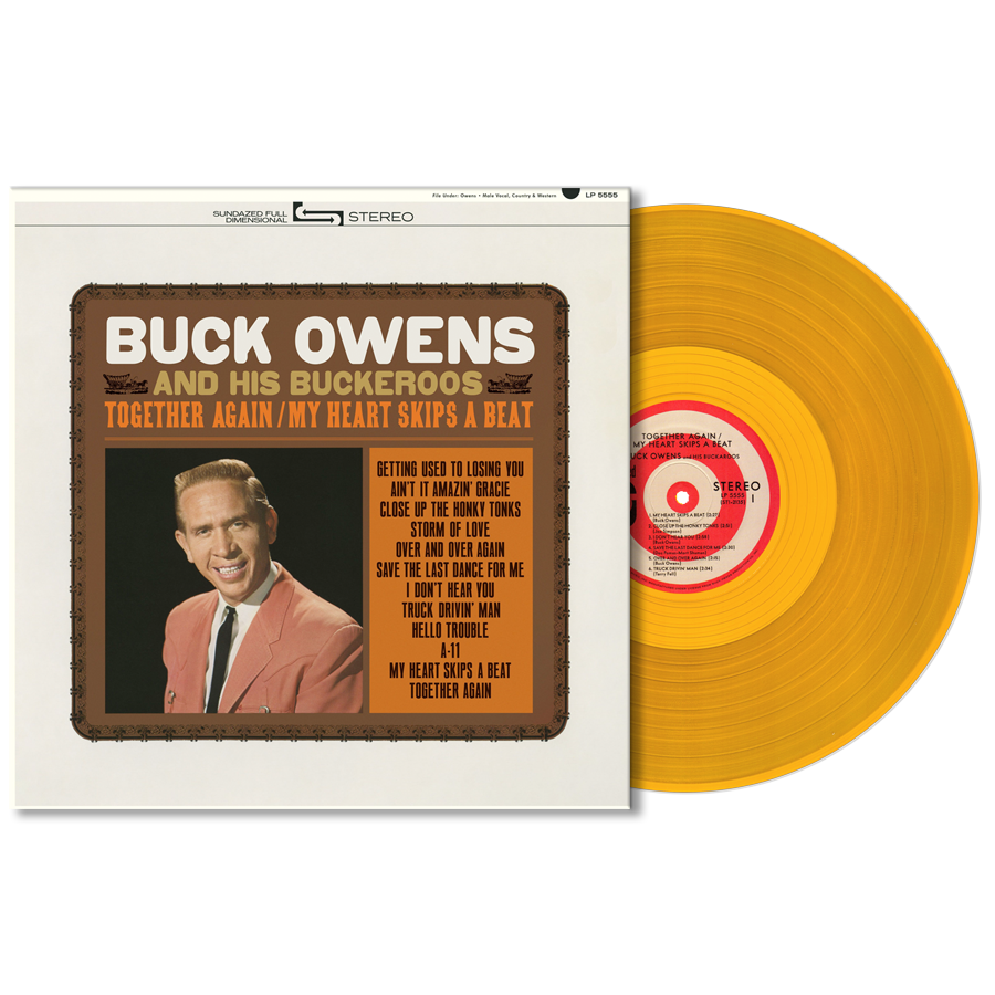 Owens, Buck and His Buckaroos - Together Again/ My Heart Skips A Beat - LP