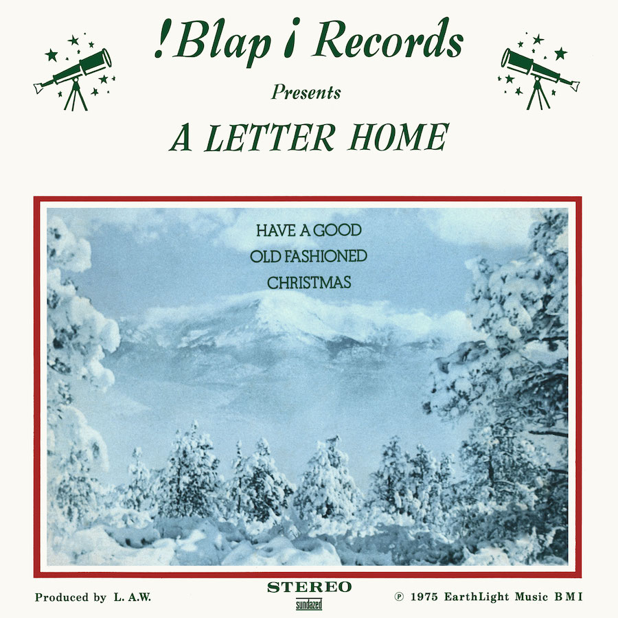 A Letter Home - Have A Good Old Fashioned Christmas - White Vinyl LP - LP-SUND-5586C