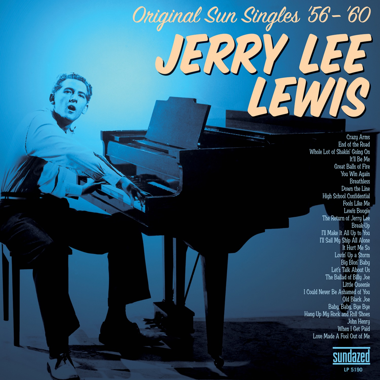 Lewis, Jerry Lee - Original Sun Singles 56 - 60 2-LP Set