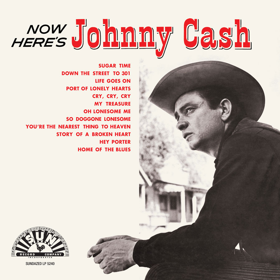 Cash, Johnny - Now Here's Johnny Cash LP - LP 5240