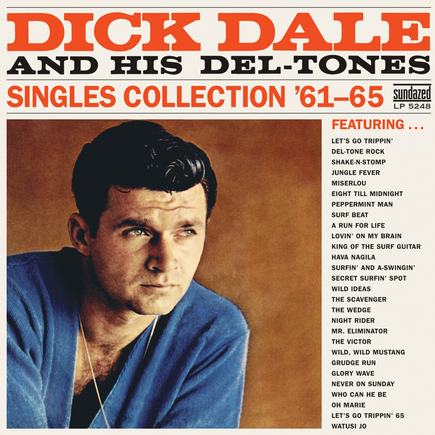 Dick Dale and His Del-Tones - Singles Collection '61-65 MONO 2-LP Set