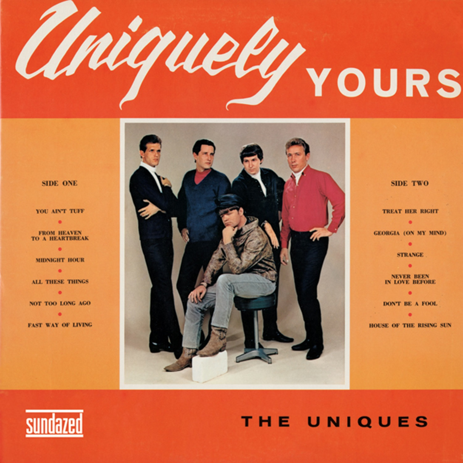 Uniques, The - Uniquely Yours LP