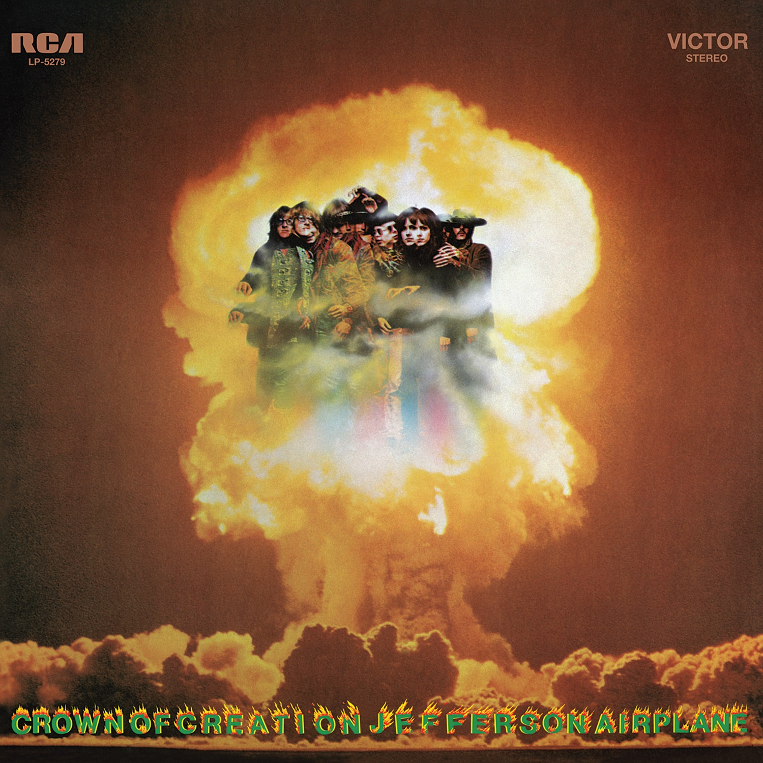 Jefferson Airplane - Crown of Creation LP