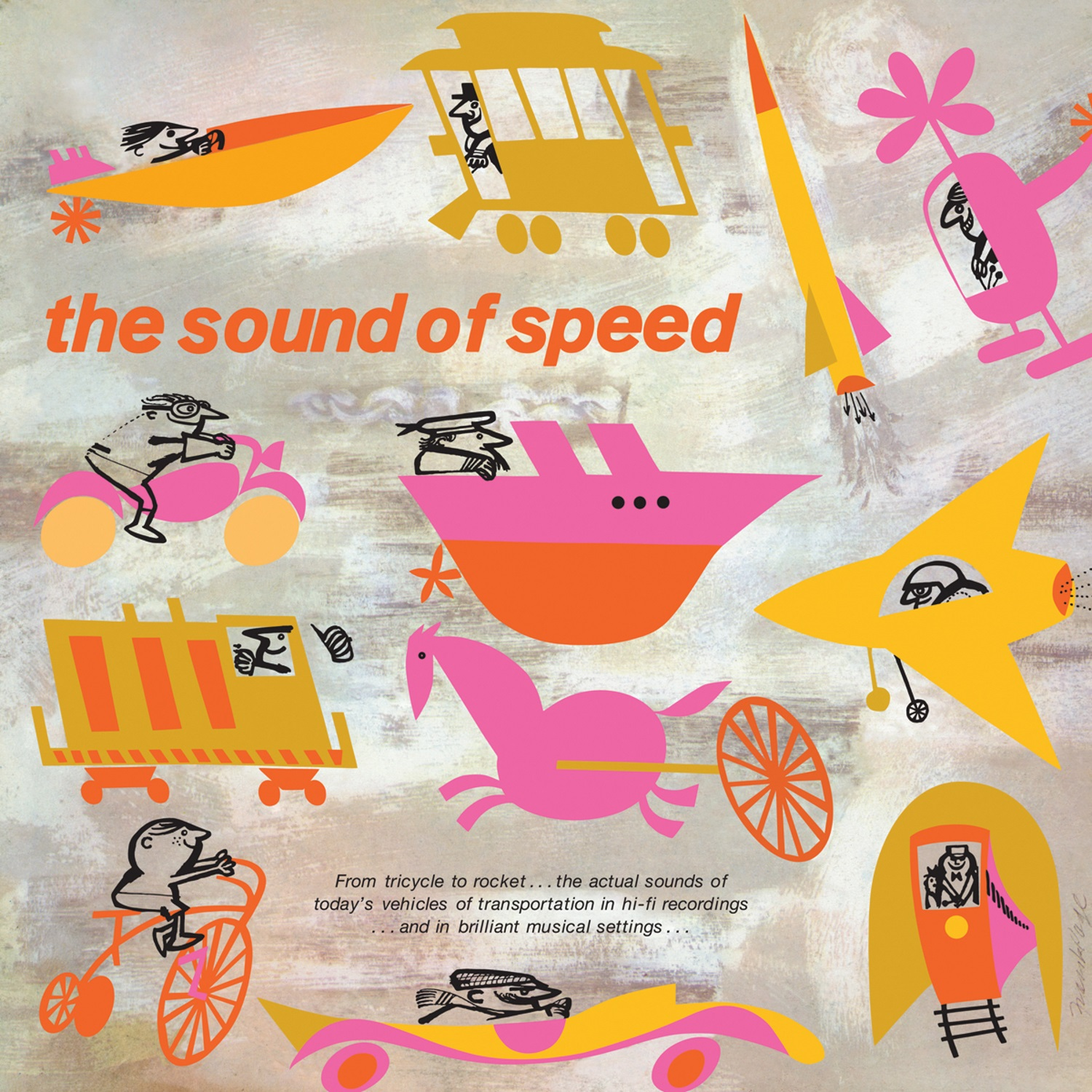 Thompson, Bob - The Sound of Speed LP