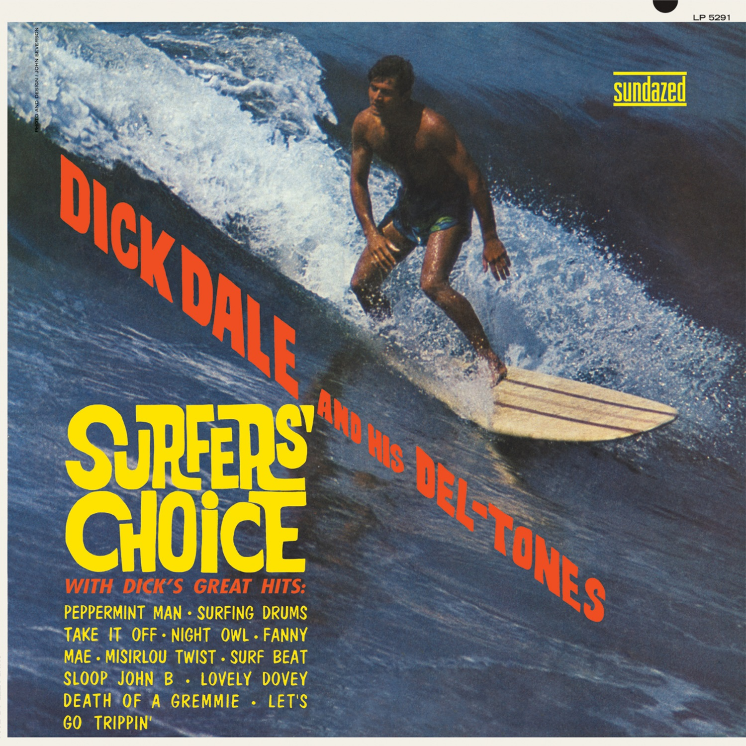 Dick Dale and His Del-Tones - Surfers%27 Choice LP