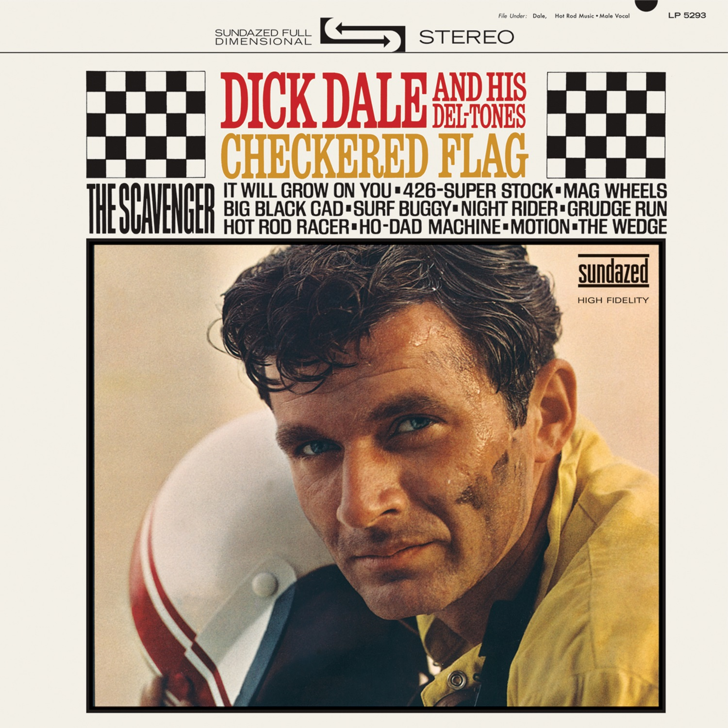 Dick Dale and His Del-Tones - Checkered Flag LP