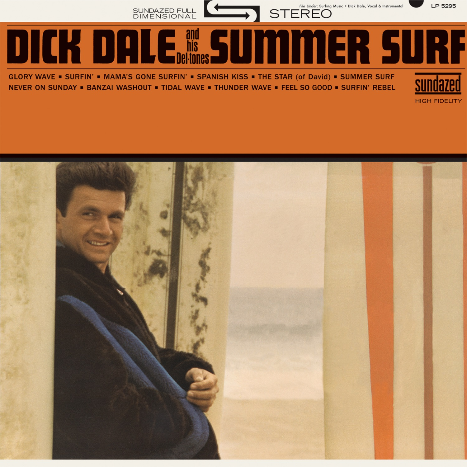 Dick Dale and His Del-Tones - Summer Surf LP