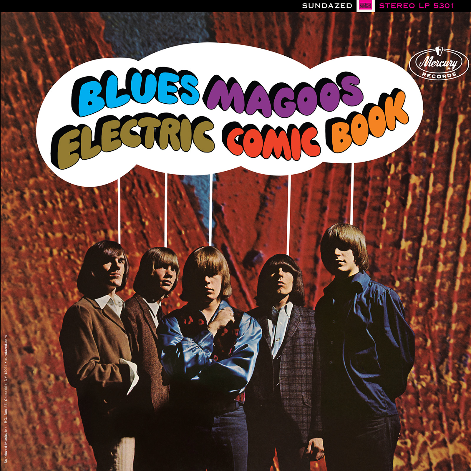Blues Magoos - Electric Comic Book LP - LP 5301