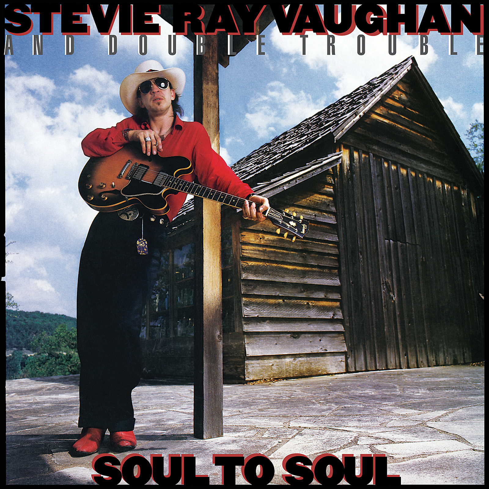 Vaughan, Stevie Ray - Soul to Soul LP