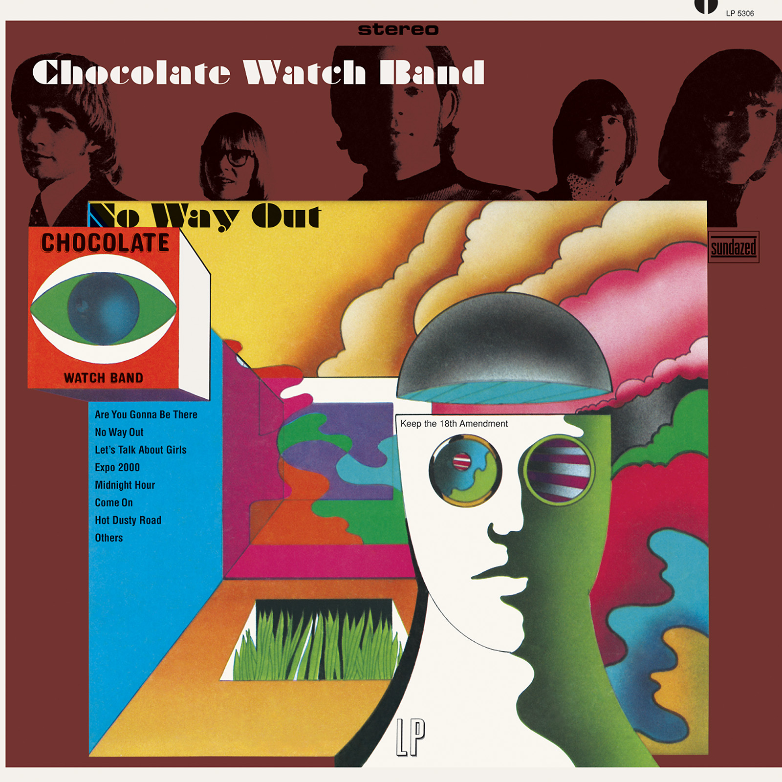 Chocolate Watch Band - No Way Out LIMITED EDITION CD