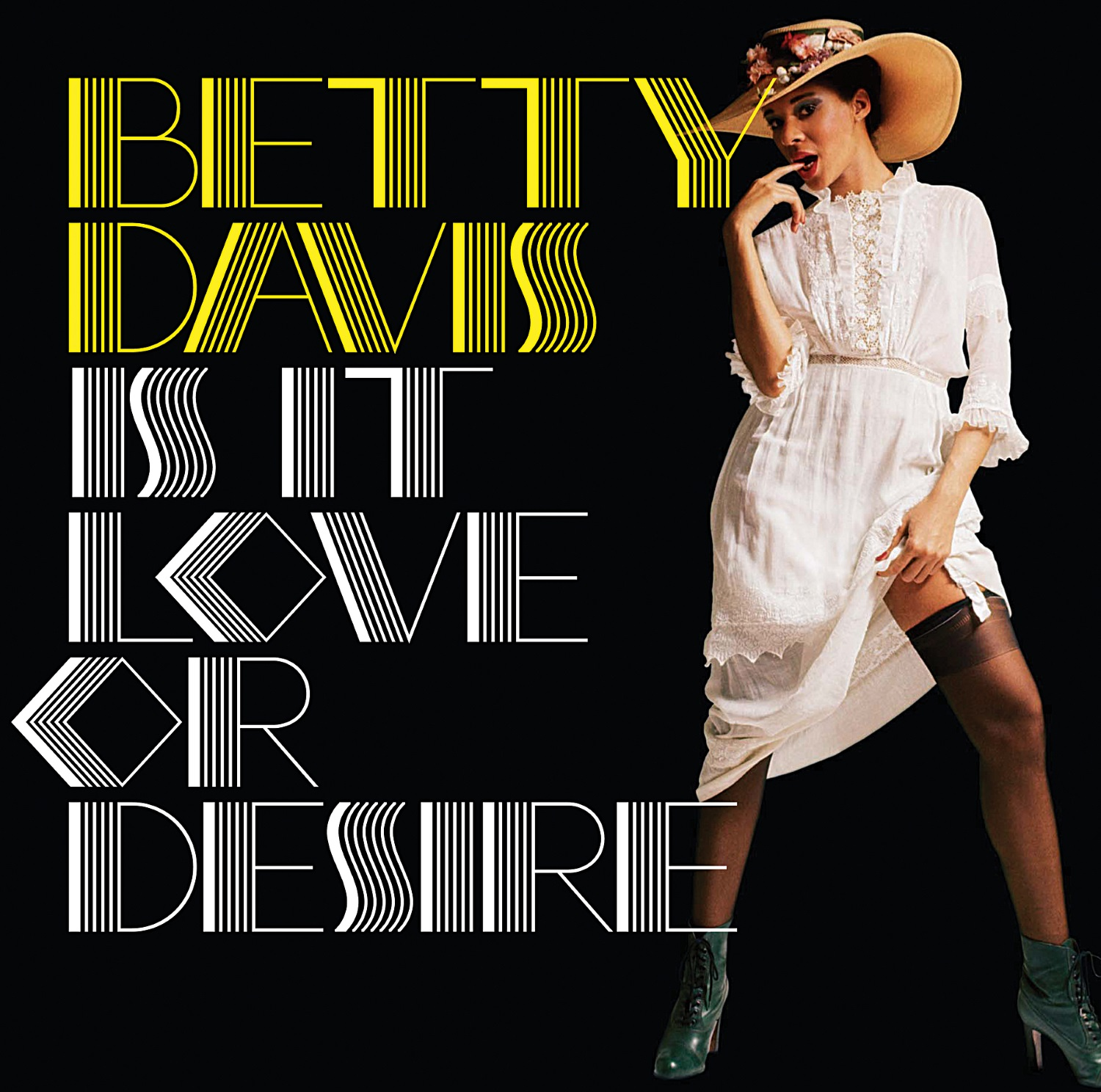 Davis, Betty - Is It Love Or Desire LP